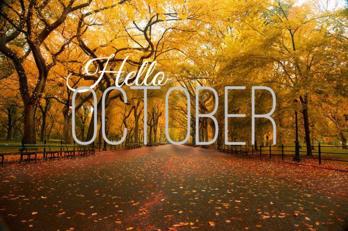 October mischief